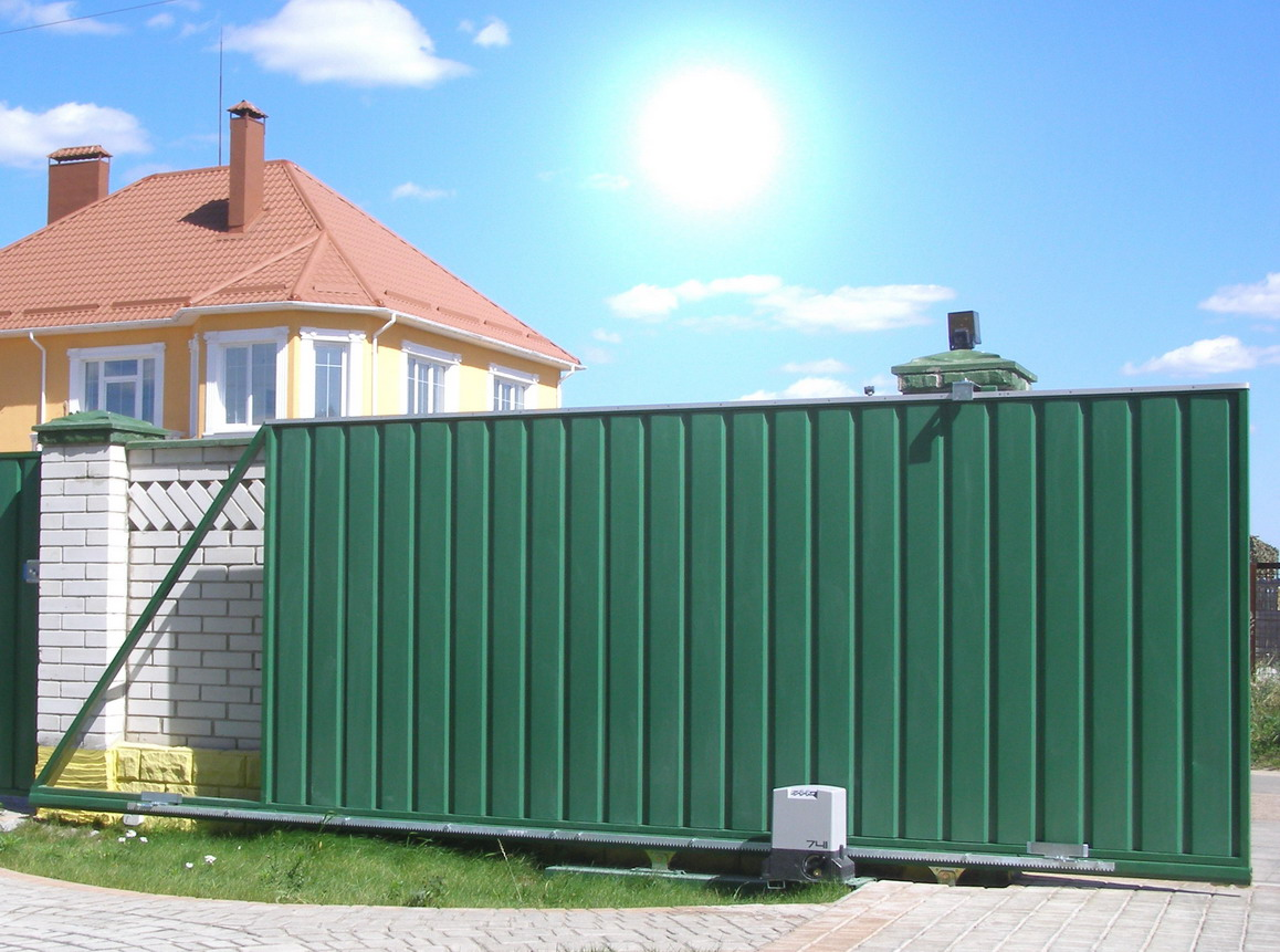 Автоматика для откатных ворот - удобно и надежно